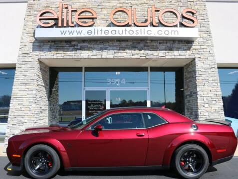 2018 Dodge Challenger for sale at Elite Autos LLC in Jonesboro AR