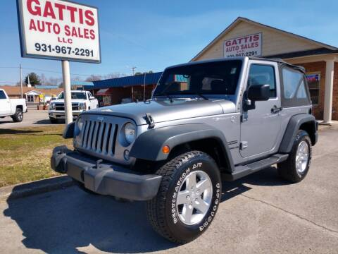 2014 Jeep Wrangler for sale at Gattis Auto Sales LLC in Winchester TN