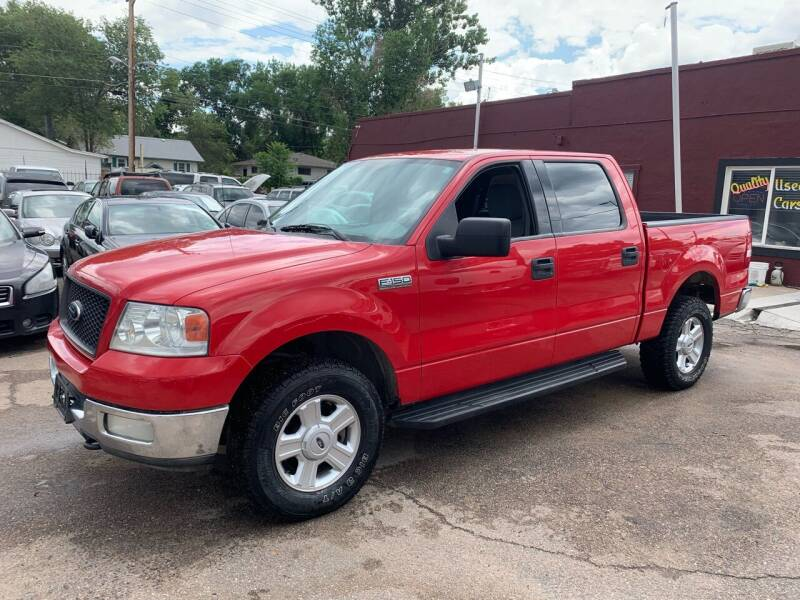 2004 Ford F-150 for sale at B Quality Auto Check in Englewood CO