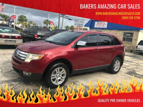 2008 Ford Edge for sale at Bakers Amazing Car Sales in Jacksonville FL