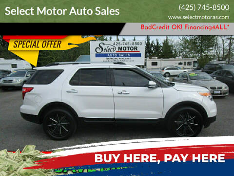 2015 Ford Explorer for sale at Select Motor Auto Sales in Lynnwood WA