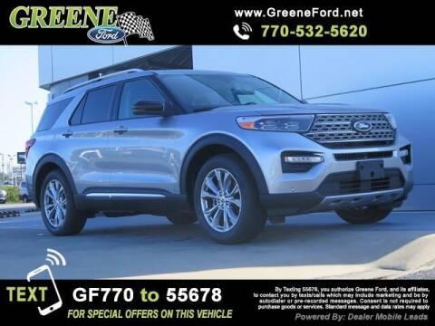 2021 Ford Explorer for sale at NMI in Atlanta GA