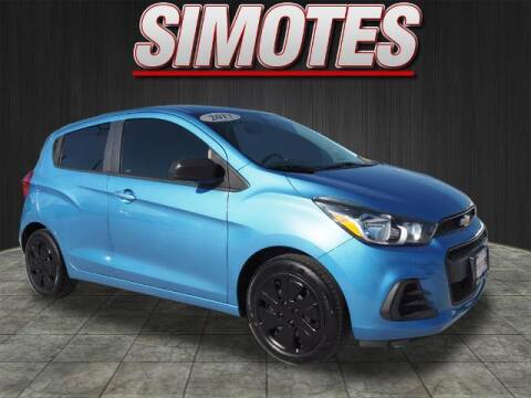 2017 Chevrolet Spark for sale at SIMOTES MOTORS in Minooka IL