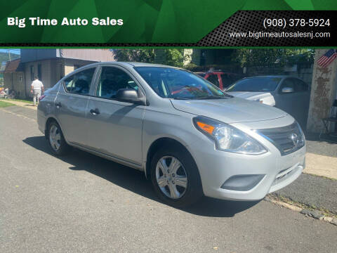 2015 Nissan Versa for sale at Big Time Auto Sales in Vauxhall NJ