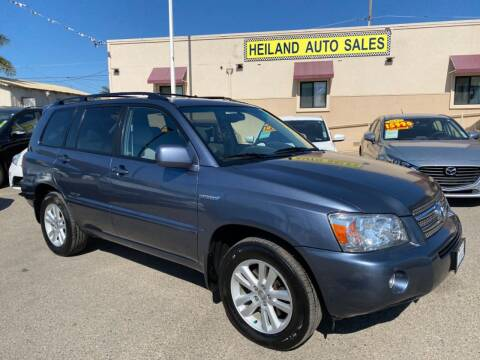 2006 Toyota Highlander Hybrid for sale at HEILAND AUTO SALES in Oceano CA