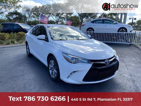 2016 Toyota Camry for sale at AUTOSHOW SALES & SERVICE in Plantation FL