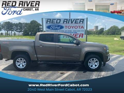 2017 Chevrolet Colorado for sale at RED RIVER DODGE - Red River of Cabot in Cabot, AR