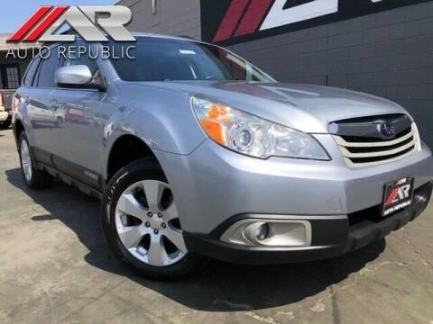 2012 Subaru Outback for sale at Auto Republic Fullerton in Fullerton CA