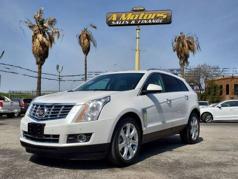 2014 Cadillac SRX for sale at A MOTORS SALES AND FINANCE in San Antonio TX