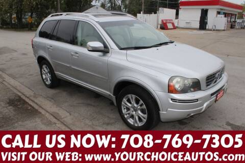 2013 Volvo XC90 for sale at Your Choice Autos in Posen IL