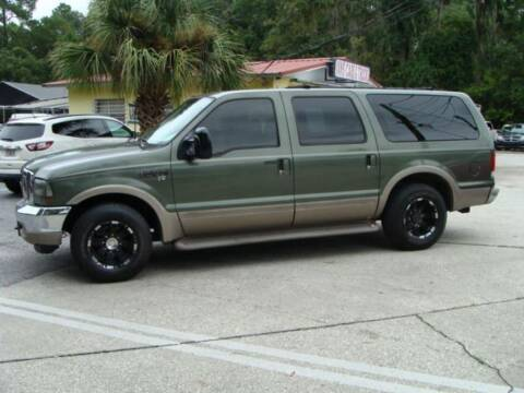 2000 Ford Excursion for sale at VANS CARS AND TRUCKS in Brooksville FL