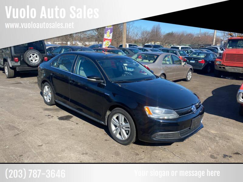 2013 Volkswagen Jetta for sale at Vuolo Auto Sales in North Haven CT