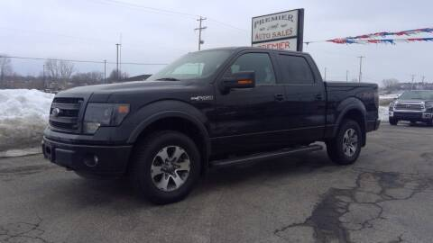 2014 Ford F-150 for sale at Premier Auto Sales Inc. in Big Rapids MI