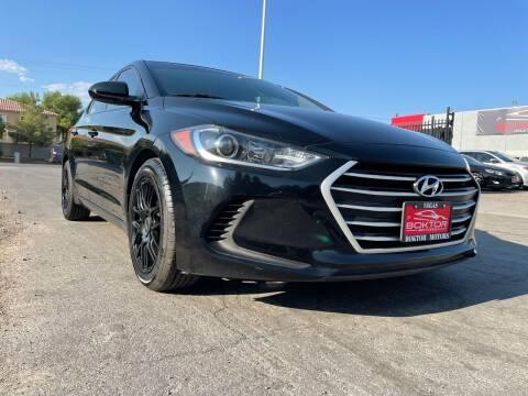 2017 Hyundai Elantra for sale at Boktor Motors in Las Vegas NV