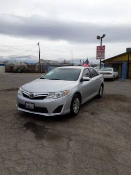 2012 Toyota Camry for sale at Autosales Kingdom in Lancaster CA