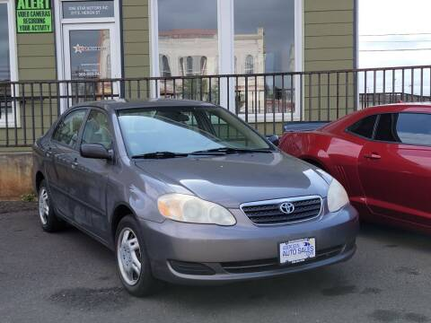 2008 Toyota Corolla for sale at Aberdeen Auto Sales in Aberdeen WA