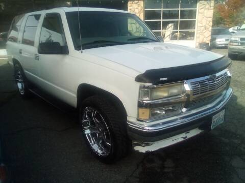 1997 GMC Yukon for sale at Payless Car & Truck Sales in Mount Vernon WA