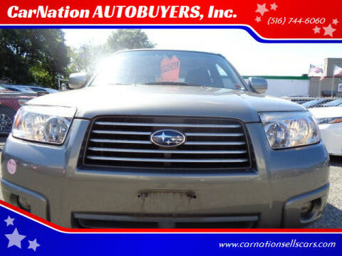 2007 Subaru Forester for sale at CarNation AUTOBUYERS, Inc. in Rockville Centre NY