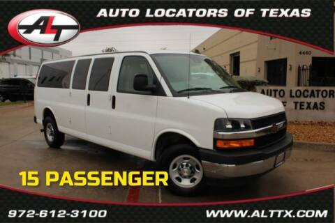 2019 Chevrolet Express Passenger for sale at AUTO LOCATORS OF TEXAS in Plano TX