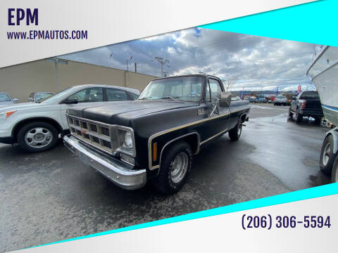 1977 GMC Sierra 1500 for sale at EPM in Auburn WA