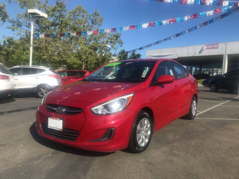 2016 Hyundai Accent for sale at Autos Wholesale in Hayward CA