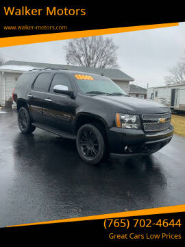 2012 Chevrolet Tahoe for sale at Walker Motors in Muncie IN