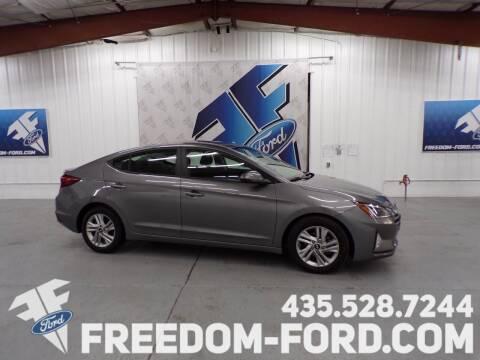 2020 Hyundai Elantra for sale at Freedom Ford Inc in Gunnison UT
