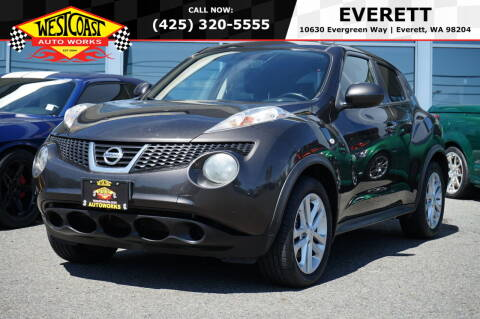 2011 Nissan JUKE for sale at West Coast Auto Works in Edmonds WA