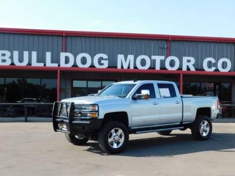 2016 Chevrolet Silverado 2500HD for sale at Bulldog Motor Company in Borger TX