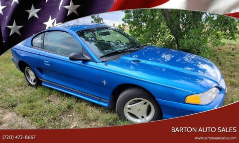 1998 Ford Mustang for sale at Barton Auto Sales in Longmont CO