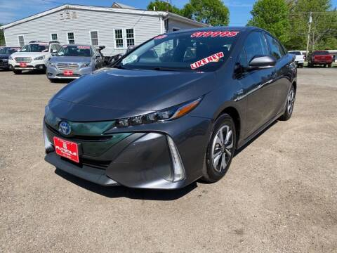 2017 Toyota Prius Prime for sale at AutoMile Motors in Saco ME