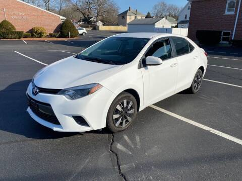 2015 Toyota Corolla for sale at New England Cars in Attleboro MA