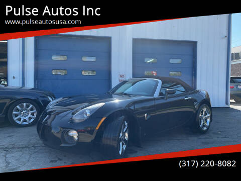 2008 Pontiac Solstice for sale at Pulse Autos Inc in Indianapolis IN