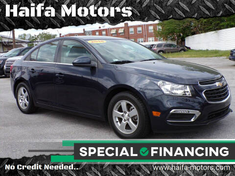 2016 Chevrolet Cruze Limited for sale at Haifa Motors in Philadelphia PA