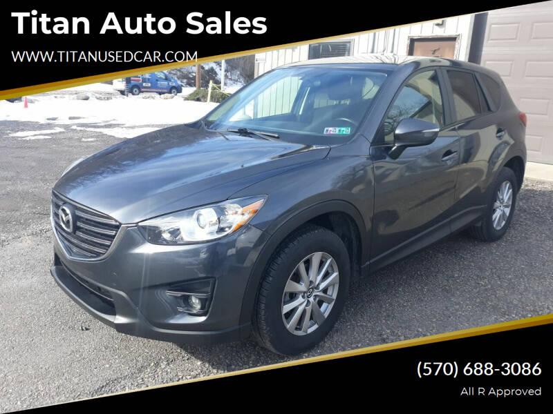 2016 Mazda CX-5 for sale at Titan Auto Sales in Berwick PA