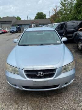 2006 Hyundai Sonata for sale at New Start Motors LLC - Crawfordsville in Crawfordsville IN