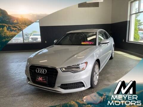 2014 Audi A6 for sale at Meyer Motors in Plymouth WI