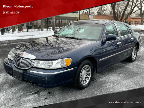 2002 Lincoln Town Car for sale at Klean Motorsports in Skokie IL
