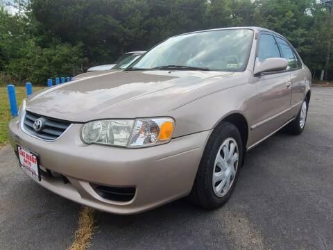 2001 Toyota Corolla for sale at Lake Ridge Auto Sales in Woodbridge VA