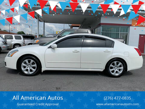2007 Nissan Maxima for sale at All American Autos in Kingsport TN