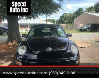 2004 Volkswagen New Beetle Convertible for sale at Speed Auto Inc in Charlotte NC