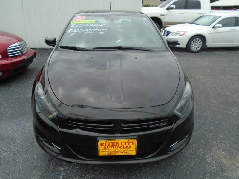 2013 Dodge Dart for sale at River City Auto Sales in Cottage Hills IL