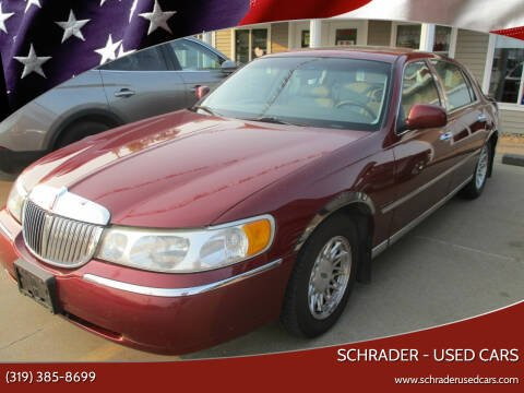 1999 Lincoln Town Car for sale at Schrader - Used Cars in Mt Pleasant IA