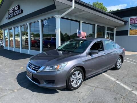 2014 Honda Accord for sale at Prestige Pre - Owned Motors in New Windsor NY