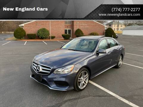 2014 Mercedes-Benz E-Class for sale at New England Cars in Attleboro MA