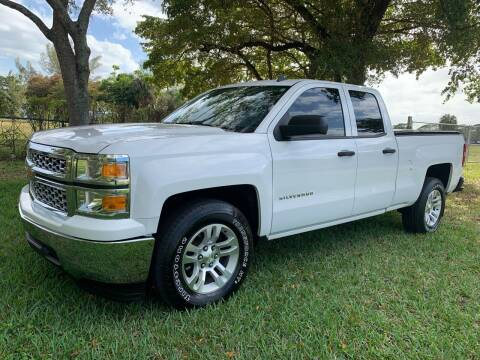 2014 Chevrolet Silverado 1500 for sale at Top Trucks Motors in Pompano Beach FL