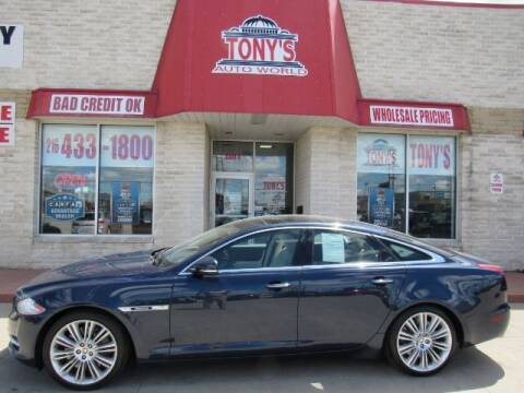 2011 Jaguar XJ for sale at Tony's Auto World in Cleveland OH