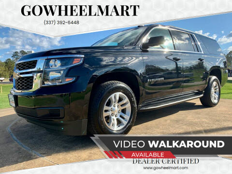 2019 Chevrolet Suburban for sale at GoWheelMart in Leesville LA