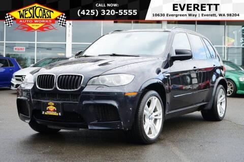 2012 BMW X5 M for sale at West Coast Auto Works in Edmonds WA