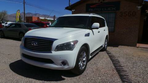 2012 Infiniti QX56 for sale at Auto Click in Tucson AZ